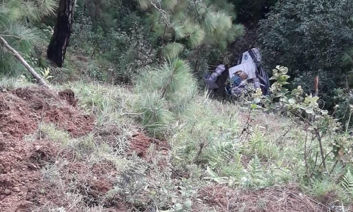 डोटीको पुर्वीचौकी गाउँपालिकामा बोलेरो जीप दुर्घटना १२ जना घाइते  ।