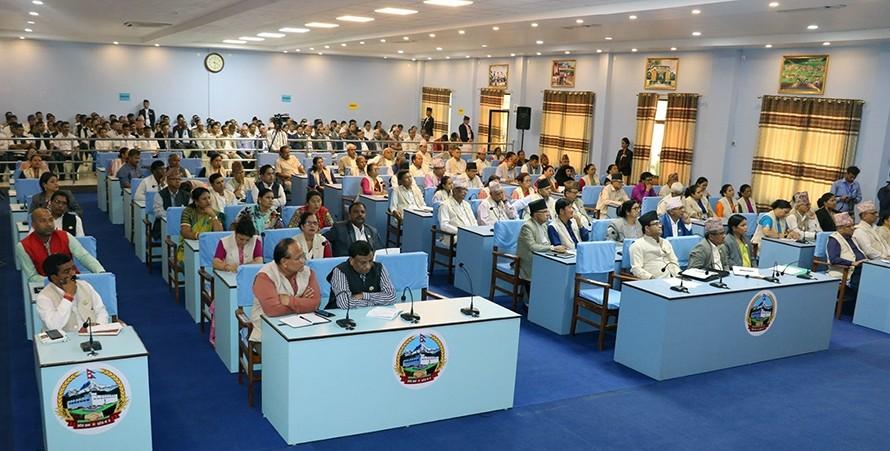 प्रदेश ५ को नाम लुम्बिनी र राजधानी देउखुरी राख्ने प्रस्ताव पारित