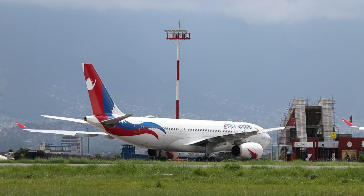 एक महिना नेपाल-भारत हवाई उडान नहुने