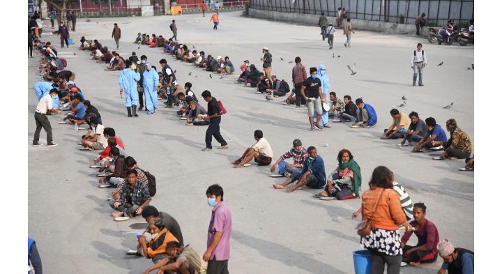 काठमाडौं महानगरले रोक्यो नि:शुल्क खाना अभियान
