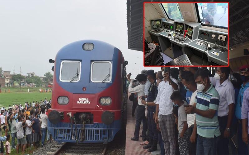 जनकपुर-जयनगर क्रस बोर्डर रेल सञ्चालनको तयारी अन्तिम चरणमा,