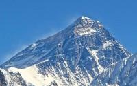 सगरमाथाको उचाई ८८४८ मिटर हालसम्म कायम रहेको छ ।