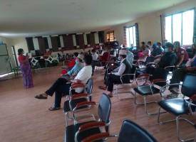 परियाेजना सल्लाहकार समितिकाे बैठक डाेटीमा सम्पन्न