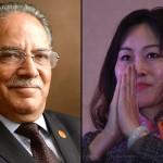 नेपाल कम्युनिस्ट पार्टी (नेकपा)का अध्यक्ष पुस्पकमल दाहाल र नेपालका लागि चिनियाँ राजदूत होउ यान्छीबीच